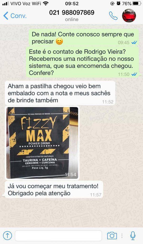 fizzy max depoimento 1