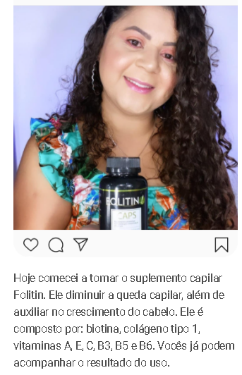 folitin capilar depoimento 2